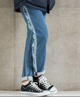 【現貨】Levi's Hi-Ball 潮流款 彈性延伸 水洗石洗拼接 Taper 上寬下窄 男款窄管牛仔褲 長褲