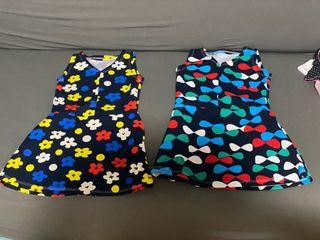 Lot of 2 baby dresses