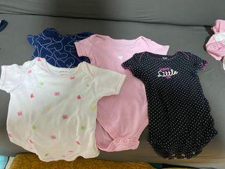 Lot of 4 onesies 9-12months