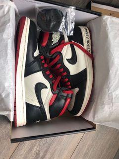 """Nike air Jordan 1 retro high og """"not for resale"""" size 7.5"""