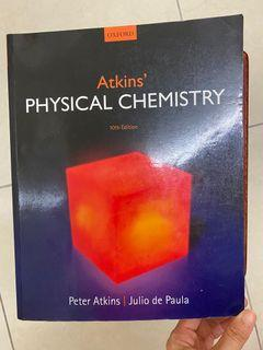 Physical chemistry 10th 物化 量化