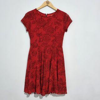 Red Dress - 99% New