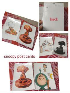 Snoopy post cards