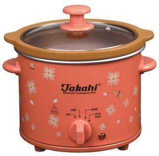 Slow cooker Takahi 2,4 liter 2.4l