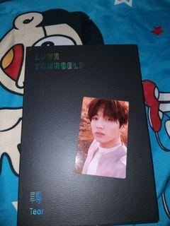 [Unsealed] Album Love Yourself Tear Y Photocard Jungkook