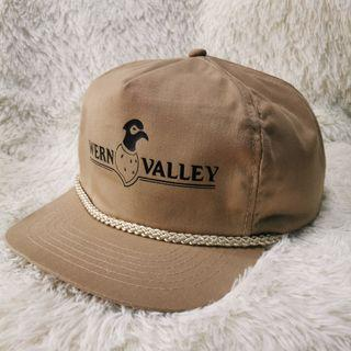 Vtg 80s Wern Valley Hunting Outdoor Adjustable Cap Hat San Sun