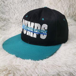 Vtg 90s Supplier & Industry Pumps AA Anderson Snapback Cap Hat