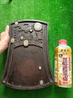 珍藏晚清大老端硯~清琉堂之寶12公斤天然端石