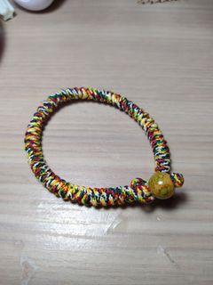 五行繩編手環