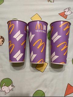 麥當勞BTS 紙杯