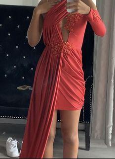 Customized Satin Gown