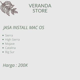 Jasa Install Mac OS