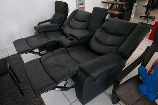 Lazy Boy type recliner sofa 2 seater