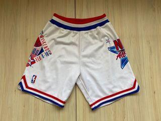 Mitchell Ness M&N All Star 1990 明星賽 球員版 球褲 S號
