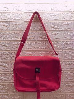 芬蘭Mrimekko  M包 紅色的  帆布包