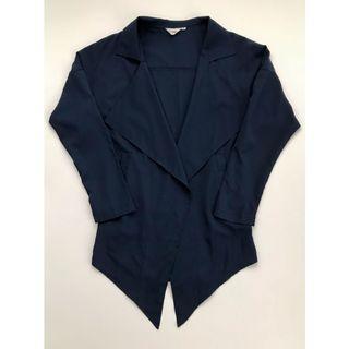 Navy Blue Blazer/Cardigan