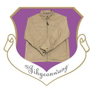 POLO Ralph Lauren 哈靈頓外套 夾克 古著 長袖上衣 素面 素色 內裡 格子 格紋 古著外套 @下課來玩吧