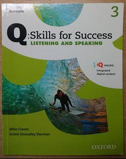 Q:Skills for Success Listening and Speaking 3 second edition