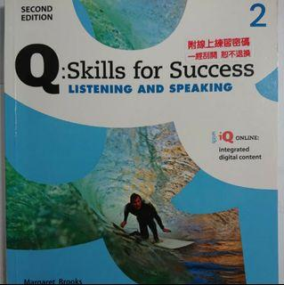 Q:Skills for Success Listening and Speaking 2 second edition