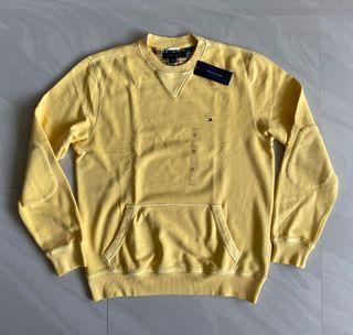 Tommy Hilfiger 衛衣 長袖 上衣 鵝黃色 M號
