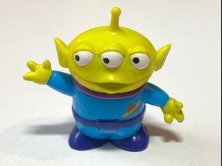 中古 絕版 十兄弟 迪士尼 反斗奇兵 三眼仔 公仔 擺設 擺件 收藏 disney toy story pixar alien charm figure toys doll sega 景品