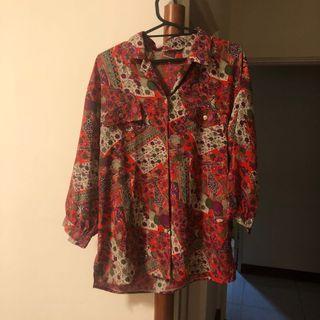 日本製 古著襯衫