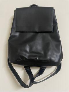黑色雙肩 學院風  雙肩包 背包
