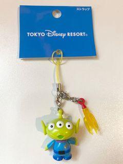 絕版 中古  迪士尼 反斗奇兵 三眼仔 公仔 擺設 擺件 收藏 火箭 鎖匙扣 disney toy story pixar alien figure toys doll