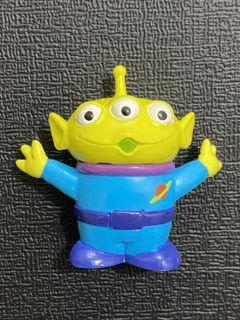 中古 絕版 十兄弟 迪士尼 反斗奇兵 三眼仔 公仔 擺設 擺件 收藏 disney toy story pixar alien charm figure toys doll sega 景品 張手 歡呼