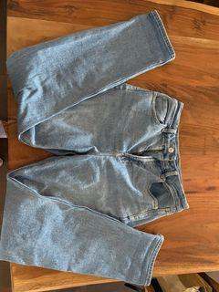 AE Curvy Mom Jeans Size 4 Long