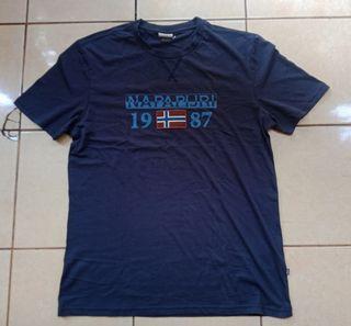 Baju ( T-shirt ) Napapijri Solin Navy