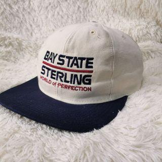 Bay State Sterling U.S Wheel Company Adjustable Leather Cap Hat