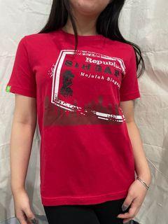 BOSSINI Red Tshirt