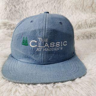 Denim Golf Adjustable Cap Hat