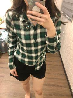 H&M brand new with tag green shirt