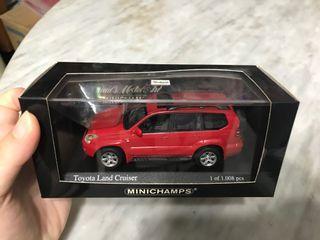 MINICHAMPS 1 :43 Toyota Land Cruiser 2002