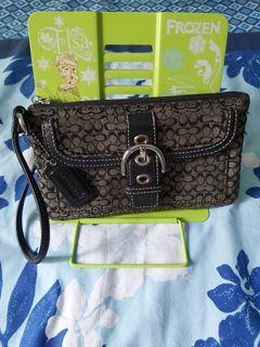 Pre-owned Coach Wallet