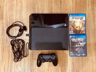 PS4 console For sale ( 2 x games & 1 x controller )