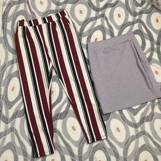 Skirt and pants bundle 💞