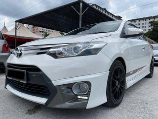 TOYOTA VIOS TRD 1.5 (A) 2015 FAST LOAN APPROVAL