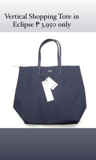 Vertical Shopping Tote