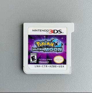 3DS Pokémon Ultra Moon US Ver. 美版 淨帶