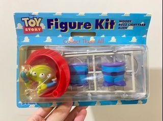 中古 絕版 迪士尼 反斗奇兵 三眼仔 爪子 公仔 擺設 擺件 收藏 disney toy story pixar alien charm figure toys doll