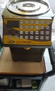 益芳果糖定量機,封口機
