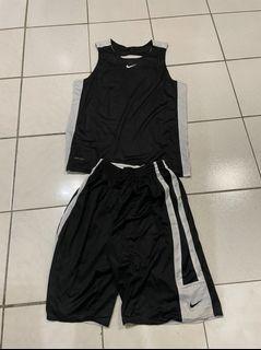 黑白雙面籃球服 2XL