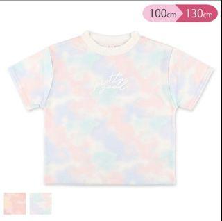 日本直送🇯🇵西松屋粉紅 /粉藍幼彩上衣