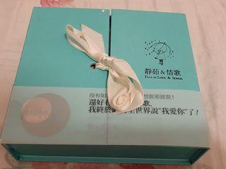 梁靜茹 靜茹&情歌 情人禮盒版 2CD+十全十美海報+側標