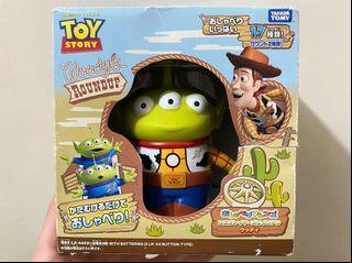 罕有 絕版 中古 扭蛋 迪士尼 反斗奇兵 三眼仔 公仔 擺設 擺件 收藏 disney toy story pixar alien remix woody charm figure toys doll 三眼仔 胡迪 變裝