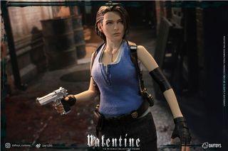 [預訂] Daftoys 1/6 Jill Valentine 生化危機 Resident Evil 可動人偶模型