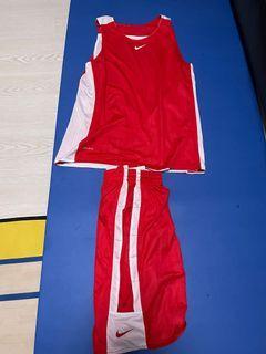 紅白雙面 籃球服 L